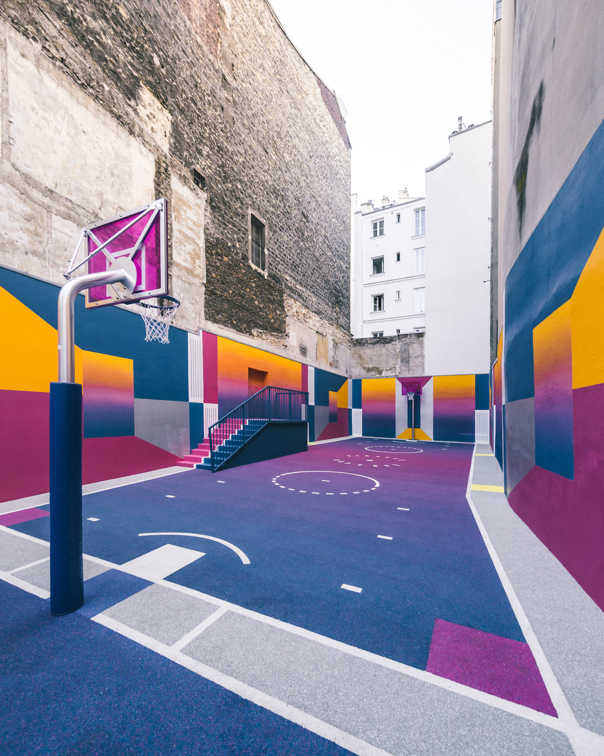 New Basketball Court by Pigalle with Nike – Fubiz Media