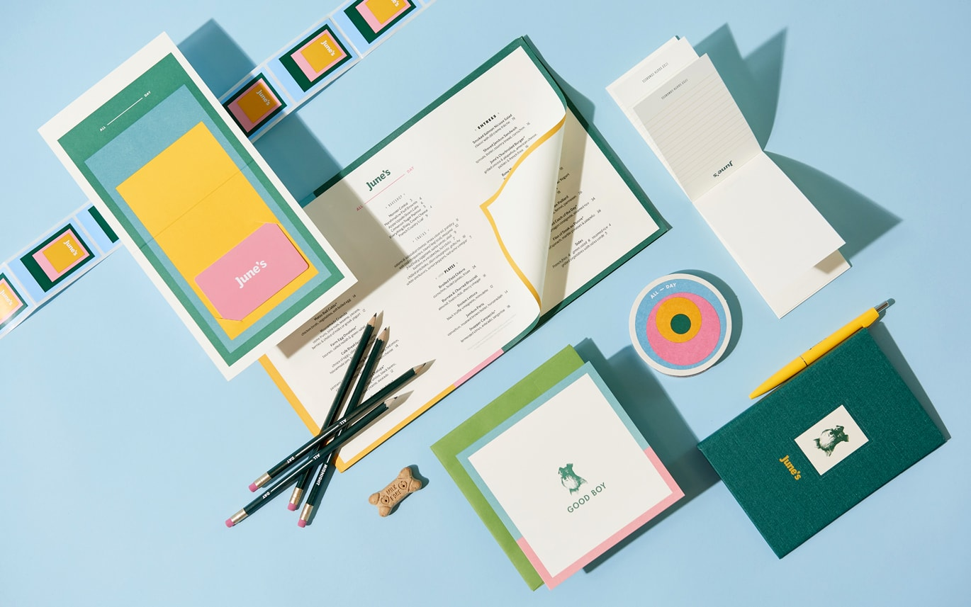 New Brand Identity for June's by Föda — BP&O