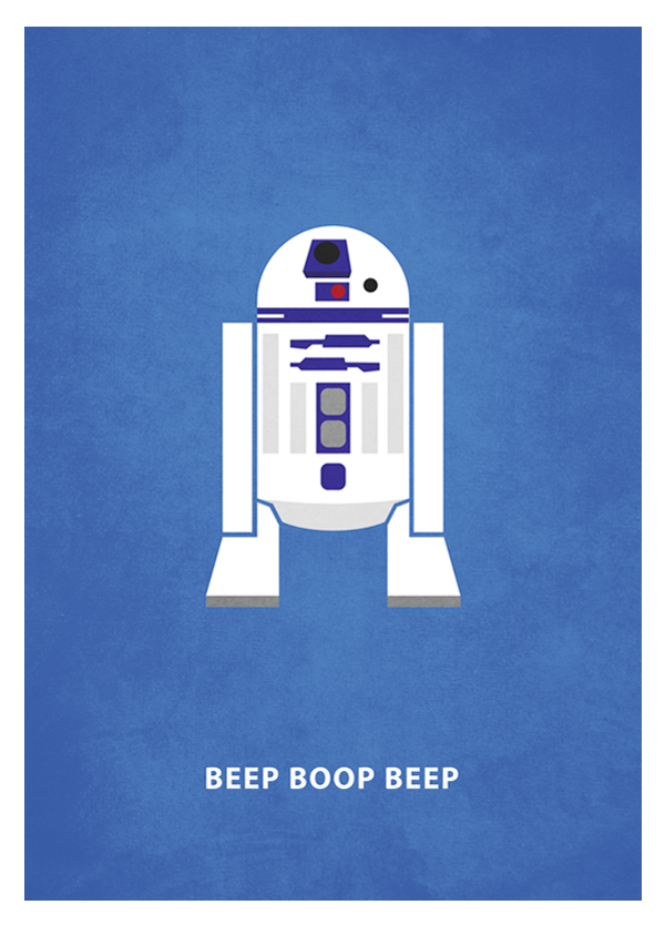 Minimal Star Wars Posters with Quotes on Inspirationde