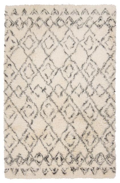 Shop Houzz | Surya Surya Tasman Tas-4500 Ivory, Charcoal Area Rug - Area Rugs