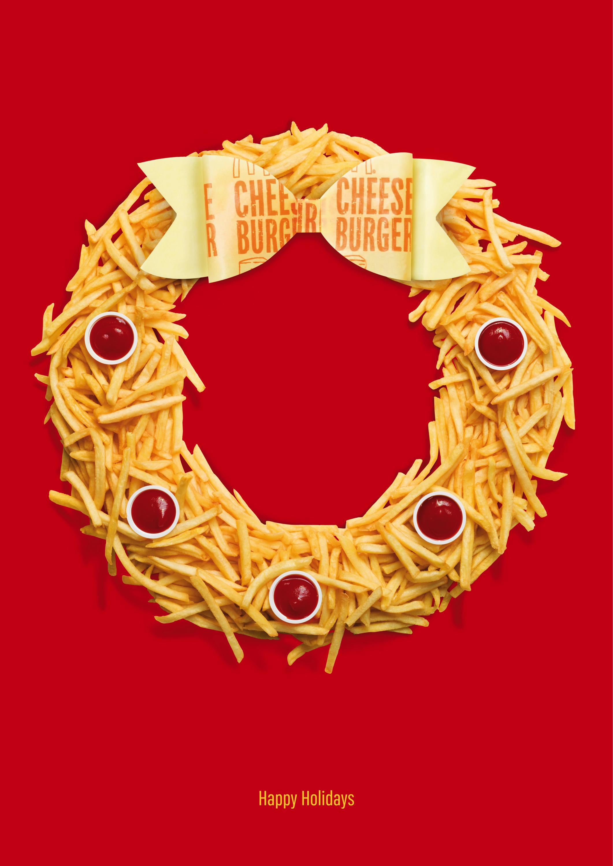 McDonald's Print Advert By Leo Burnett: Wreath | Ads of the World™