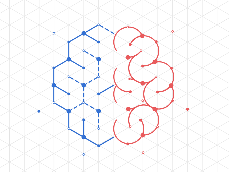 Devarium Brain construction grid by Sébastien Navizet on Inspirationde