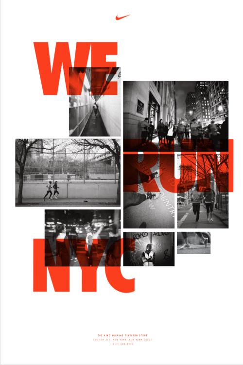 Nike Flatiron Posters on Inspirationde