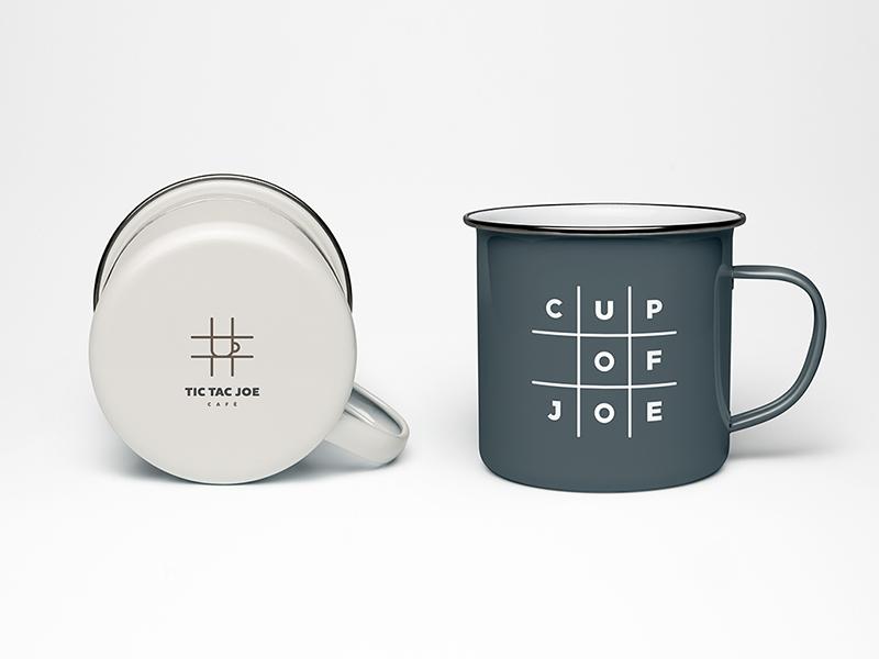 Tic Tac Joe Café Branding by Luke Southern