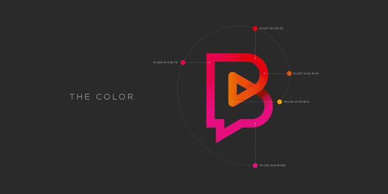 Bandini Videos logo design on Inspirationde