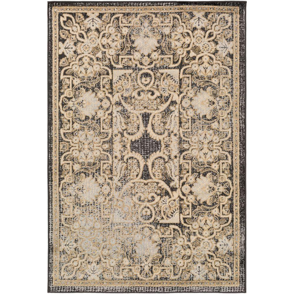 Artistic Weavers Buardajio Black 8 ft. 10 in. x 12 ft. 9 in. Indoor Area Rug-S00151090011 - The Home Depot
