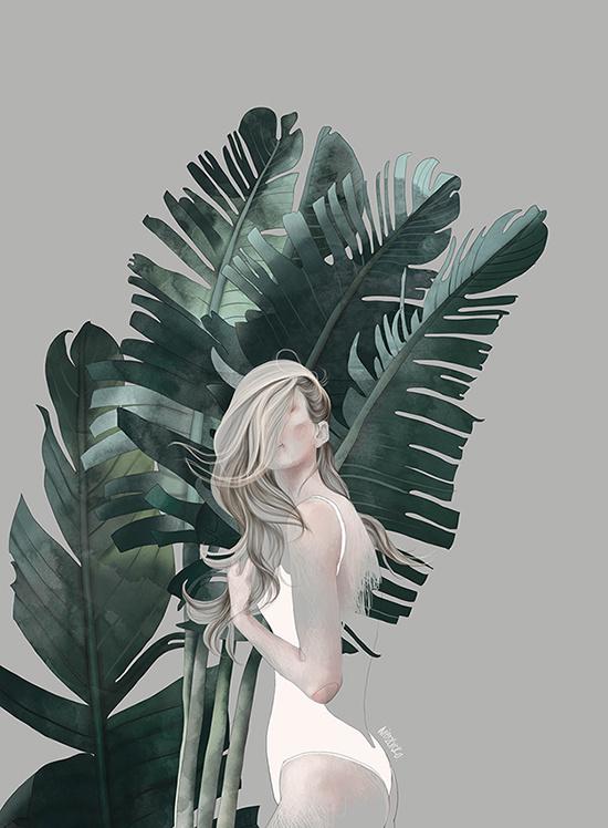 Foliage theme in Illustration