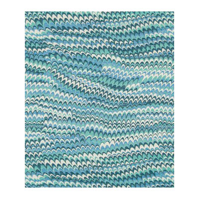 Robert Allen Perfect Wave Calypso Blue Fabric | OnlineFabricStore.net