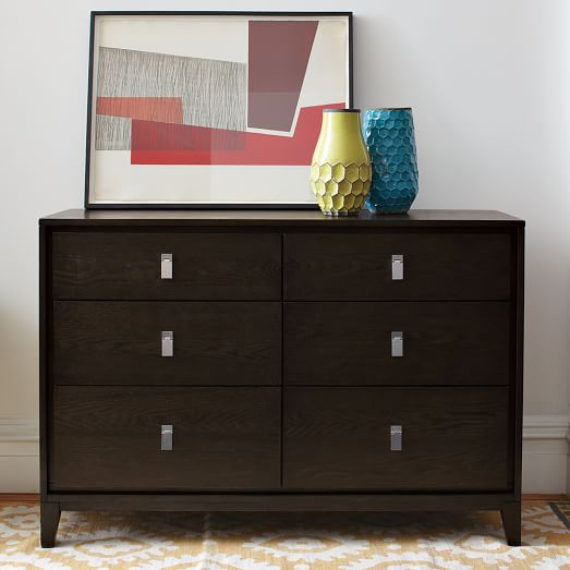 Niche 6-Drawer Dresser - Chocolate | west elm