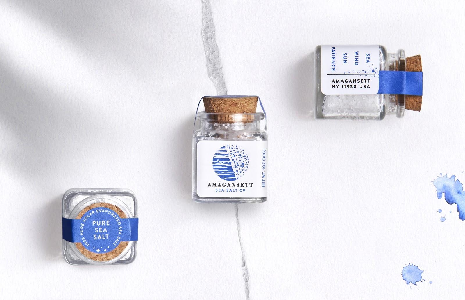 Amagansett Sea Salt on Packaging of the World - Creative Package Design Gallery
