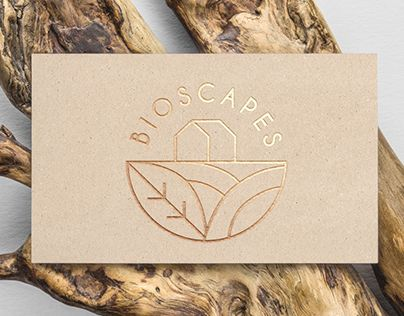 Bioscapes Business Card Design