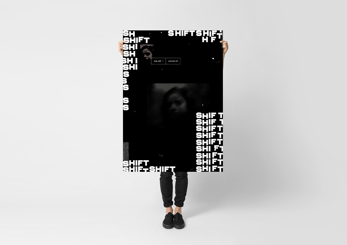 Shift x Blank Poster | Poster Collection on