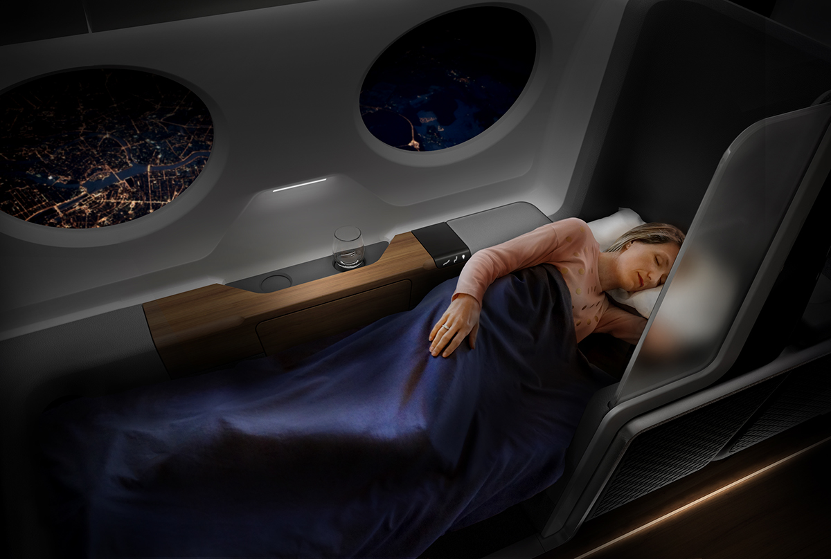 Update - Boom Supersonic Airline Interior on