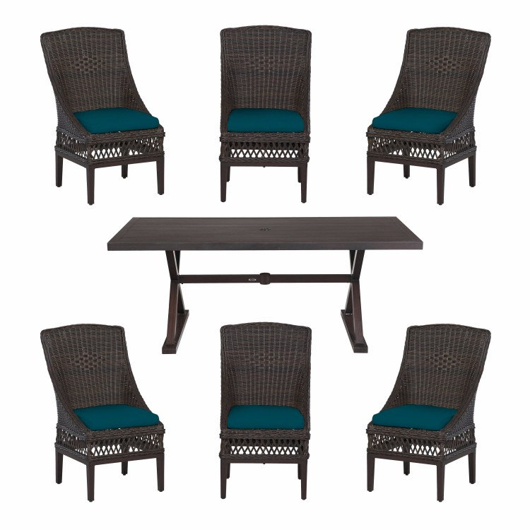 Create & Customize Your Patio Furniture Woodbury Collection – The Home Depot
