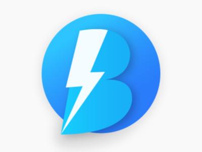 B Flash Logo by Sathish