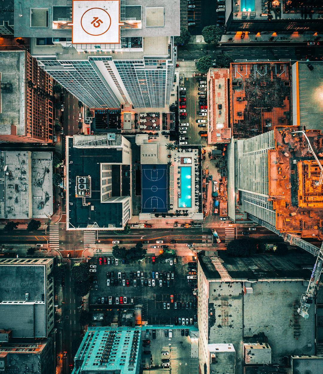 Los Angeles From Above: Vibrant Aerial Shots by ArtbyArtLA