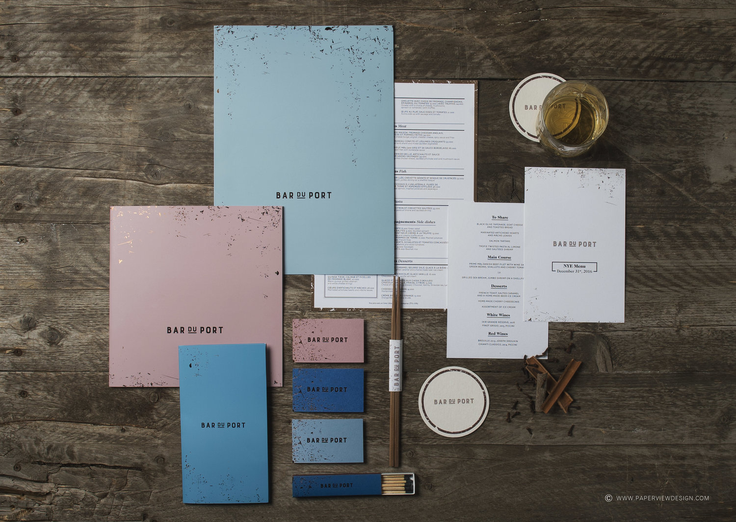 Paperview design | Branding agency | Stationary, logo and print design | Corporate identity | Restaurant branding