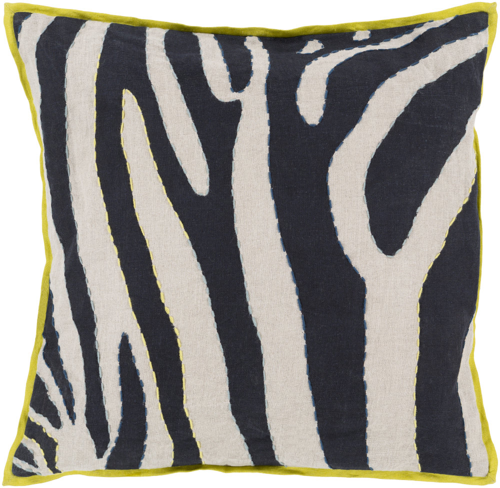 Surya - Surya Zebra Pillow Ld-042 Clearance #134905