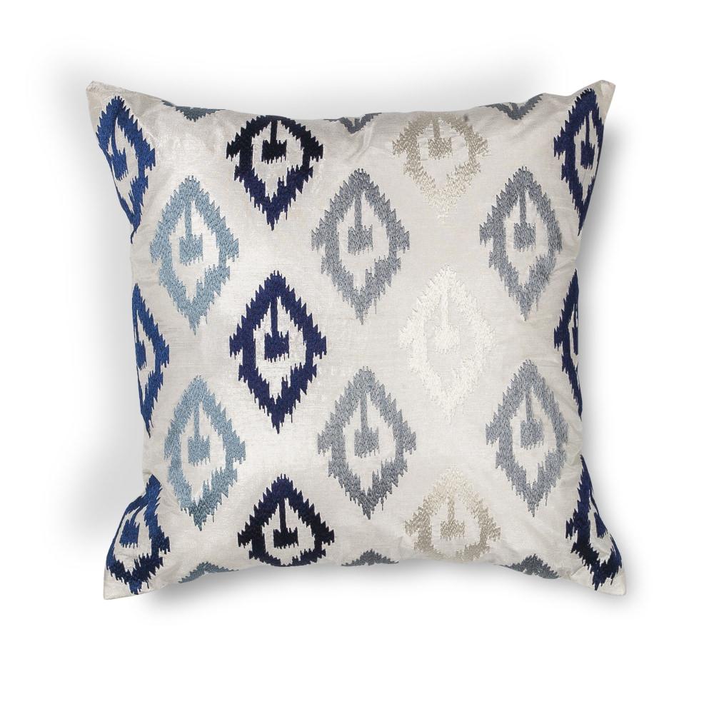 KAS - Kas Ikat Pillow L207 Blue #141911