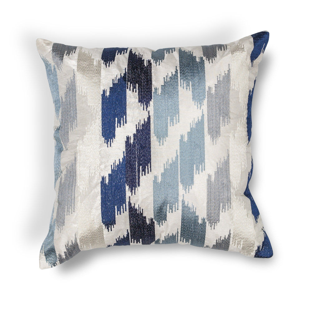 KAS - Kas Watercolors Pillow L206 Blue #141968