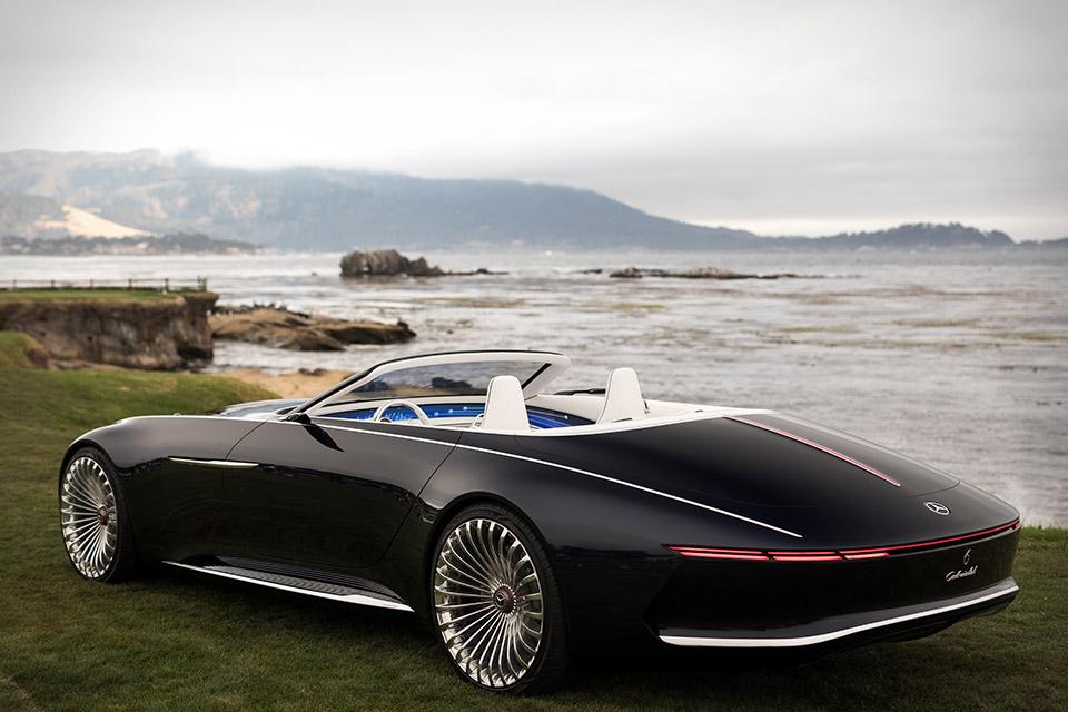 Vision Mercedes-Maybach 6 Cabriolet | Uncrate