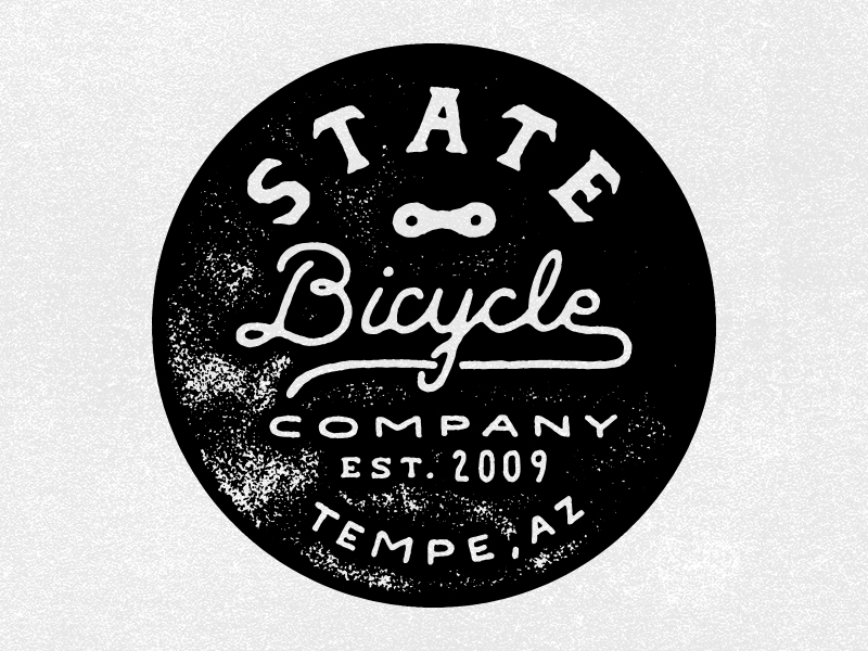 State Bicycle Stamp by Zachary Smith - Dribbble