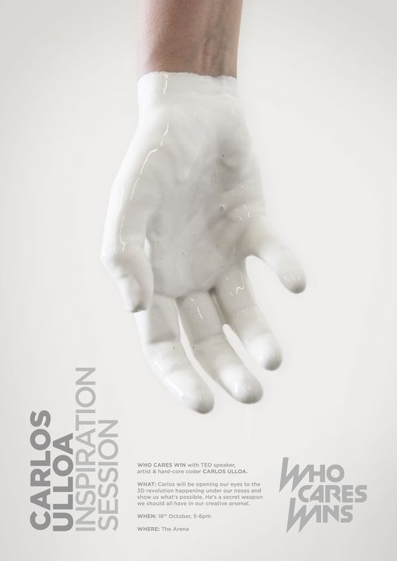 Carlos Ulloa. Creative Concept: Felipe Faúndez on Inspirationde
