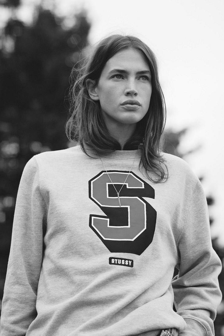 stussy white sweatshirt woman - Szukaj w Google