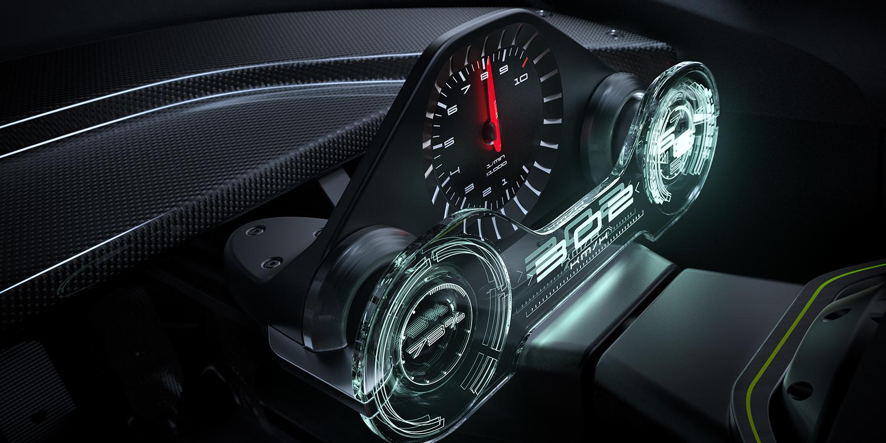 Porsche 908-04 Vision GT - INTERIOR on