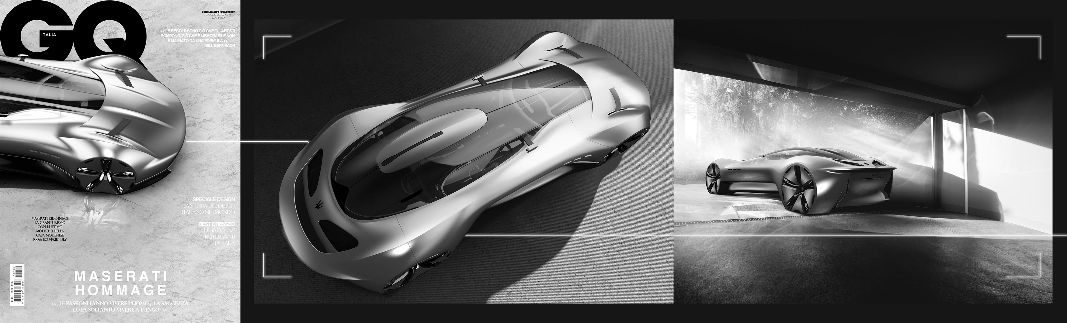 Maserati Hommage on