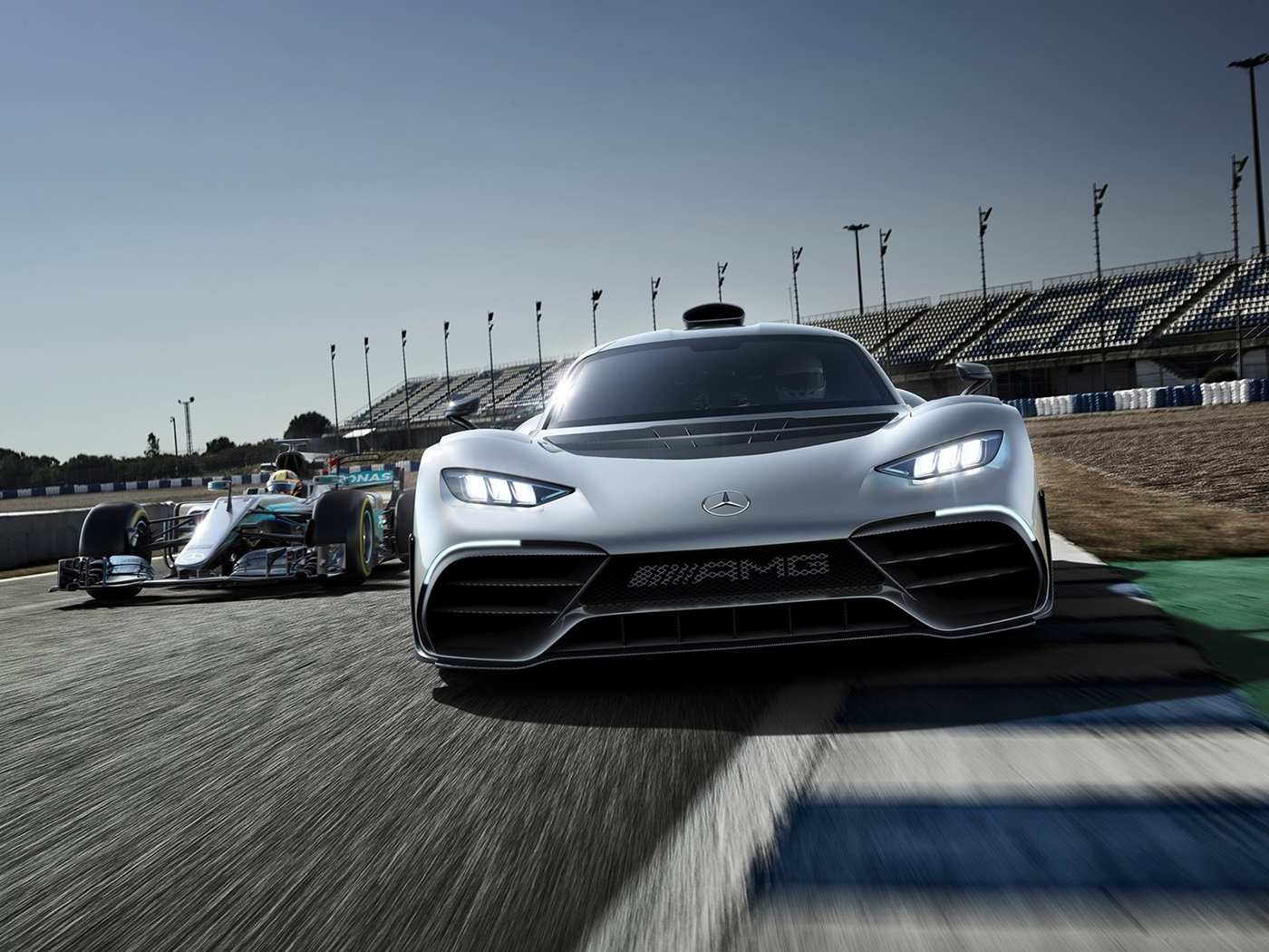 Mercedes-Benz AMG Project ONE Concept on
