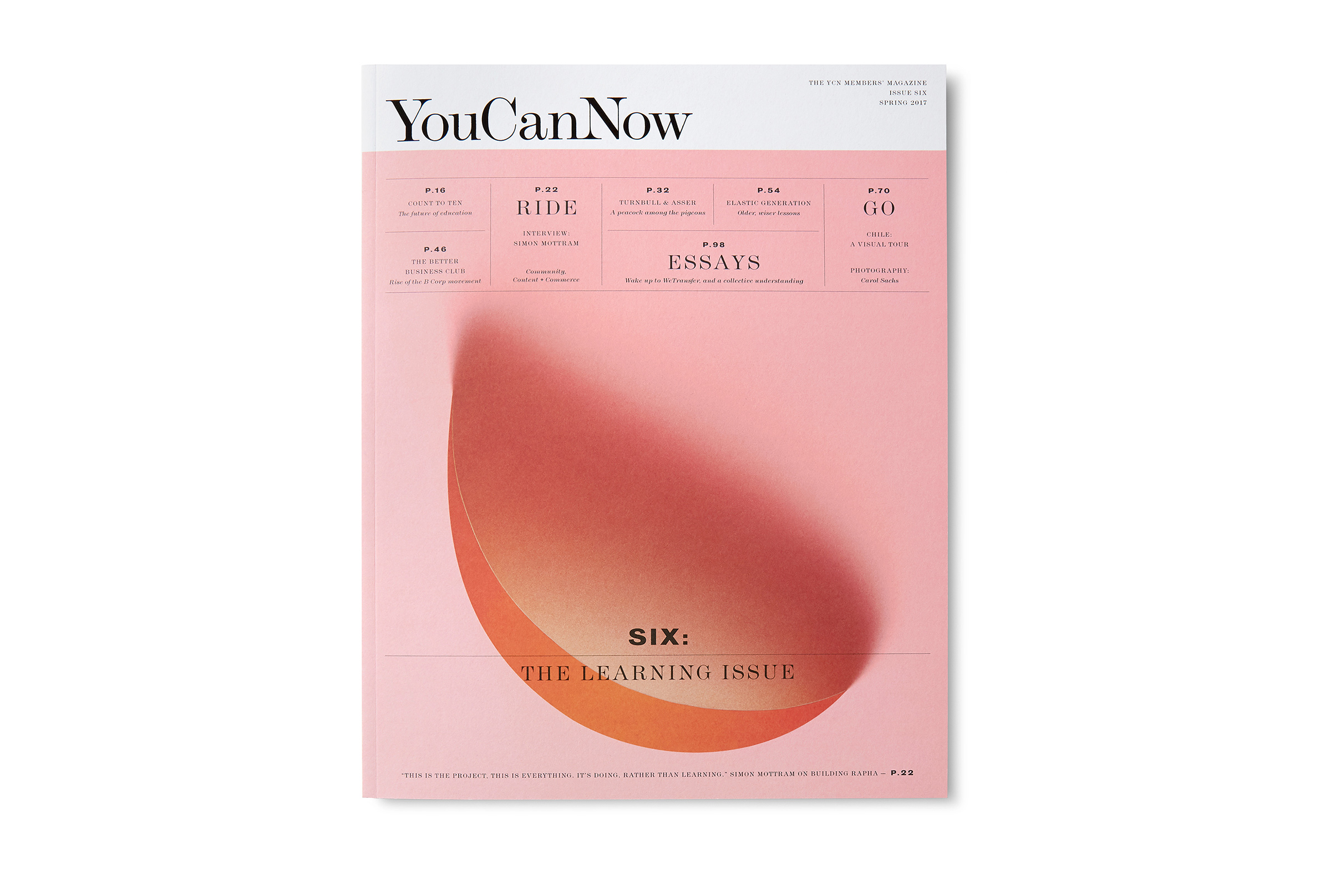 You Can Now Issue 06 — Alex Hunting Studio