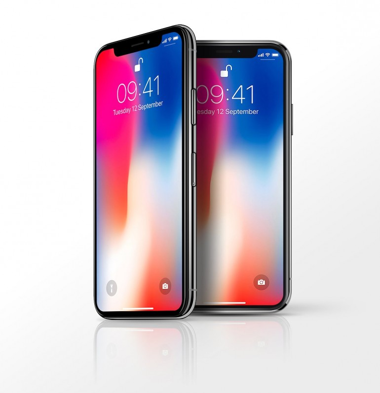 iPhone X Mockup on Inspirationde
