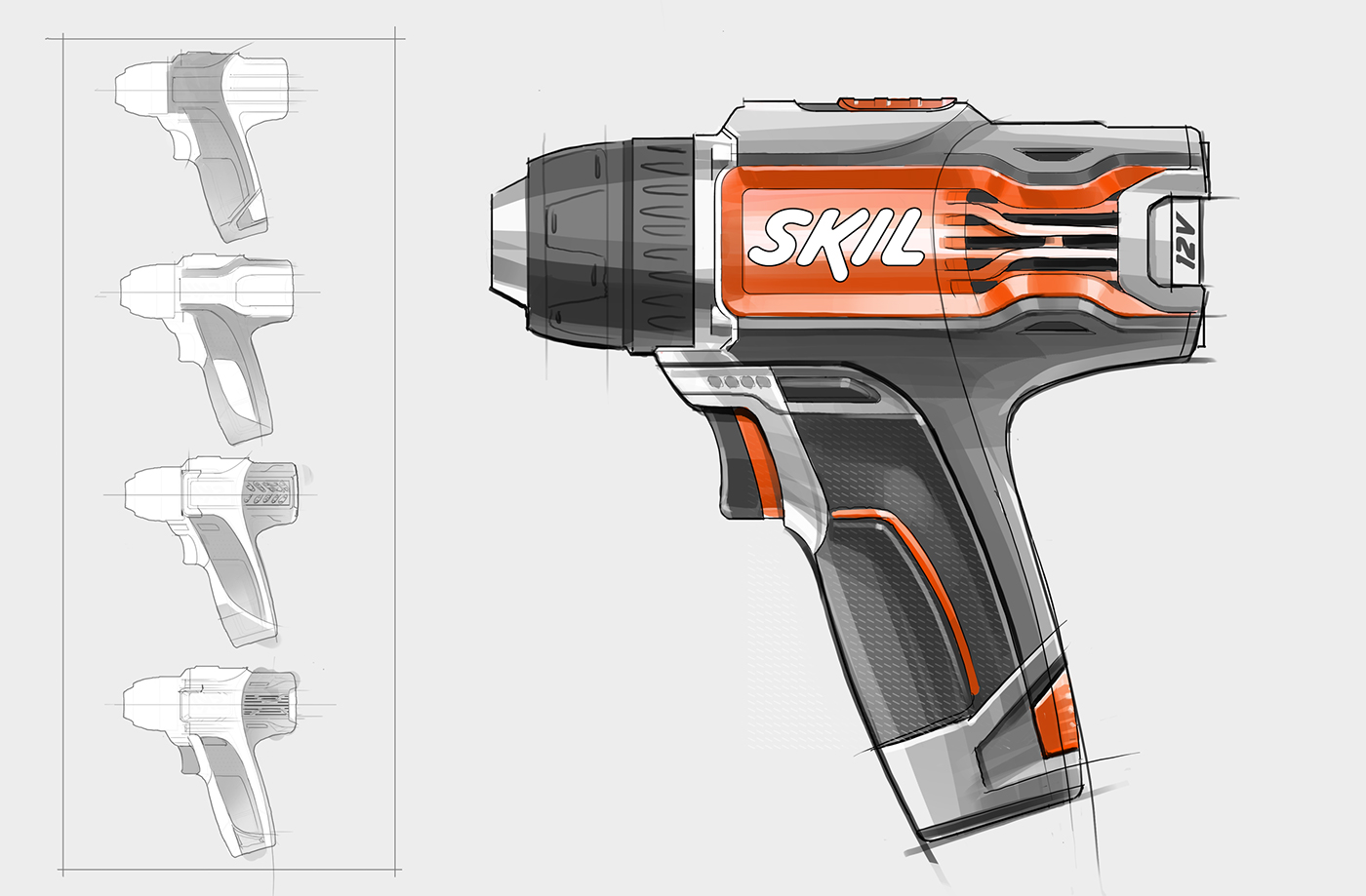 Skil Power Drill on