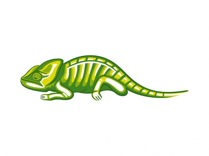 Chameleon Vector File - LOGO DESIGN ELEMENTS - Animals : LogoWik.com