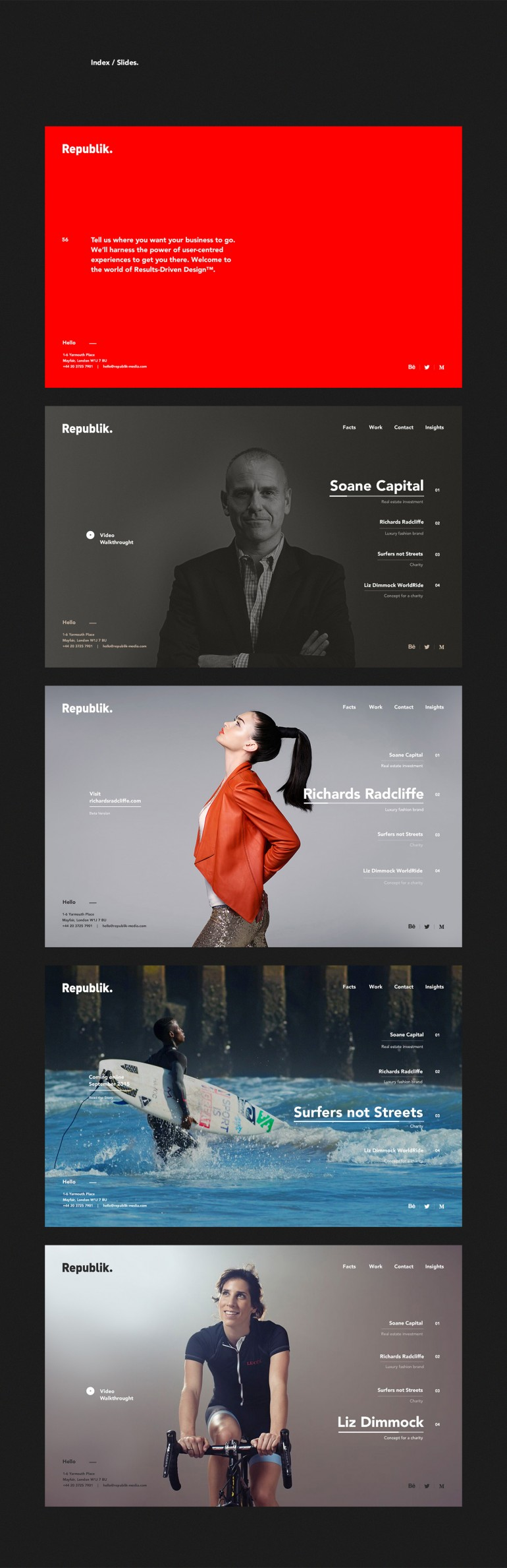 Republik Media – London based Digital Agency on Inspirationde
