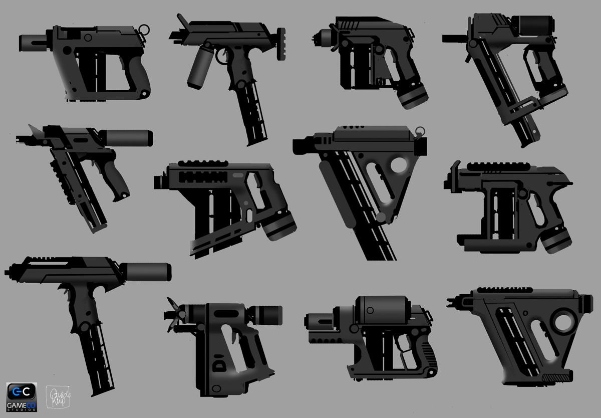 ArtStation - Nail gun, Guido Kuip