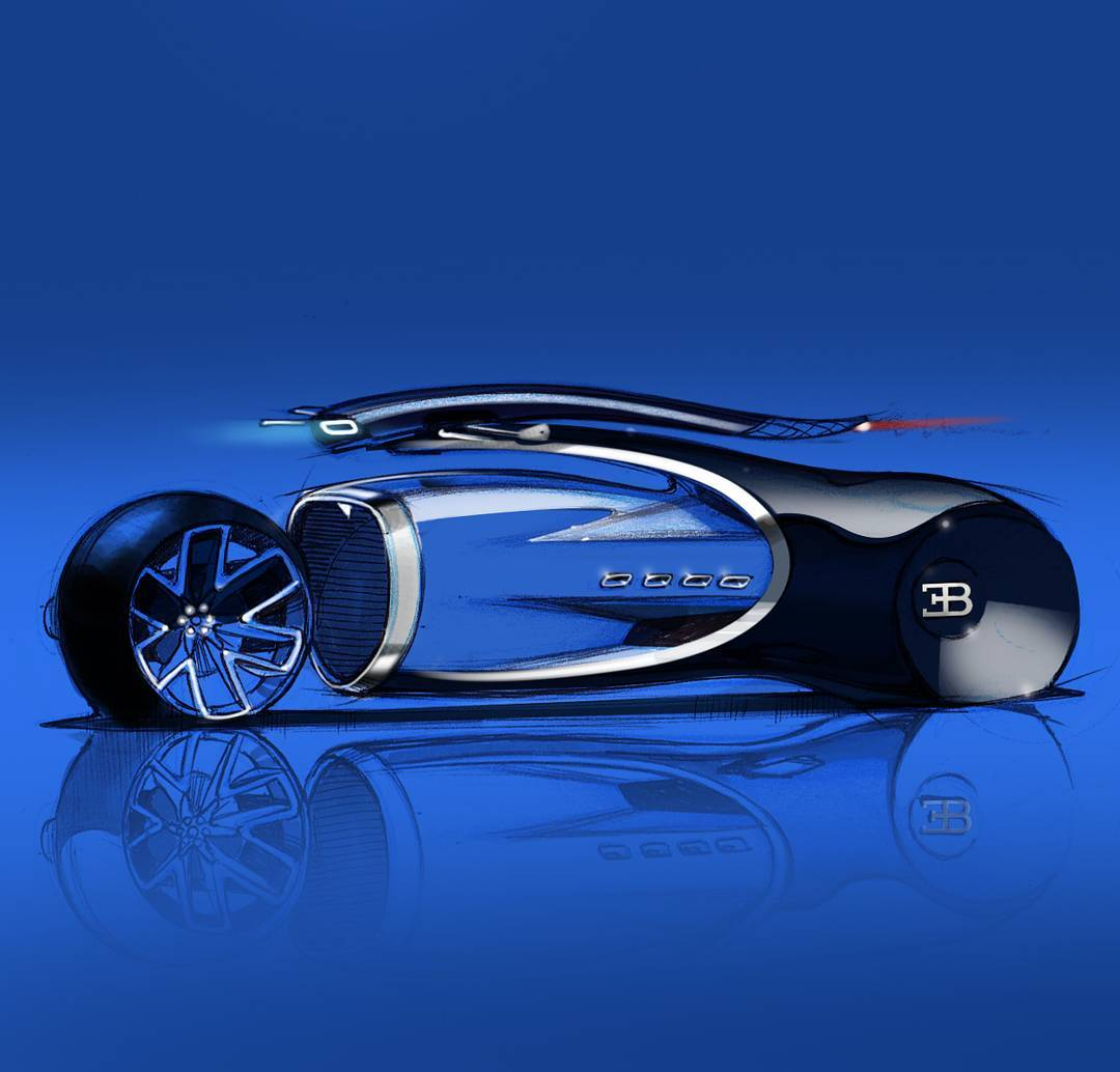 "Anay K on Instagram: ""Future Gatti! #bugatti #bugattichiron #design #future #bugatticonceptbikechallenge #sports #racing #cardesignworld #cardesigndaily…"" • Instagram"