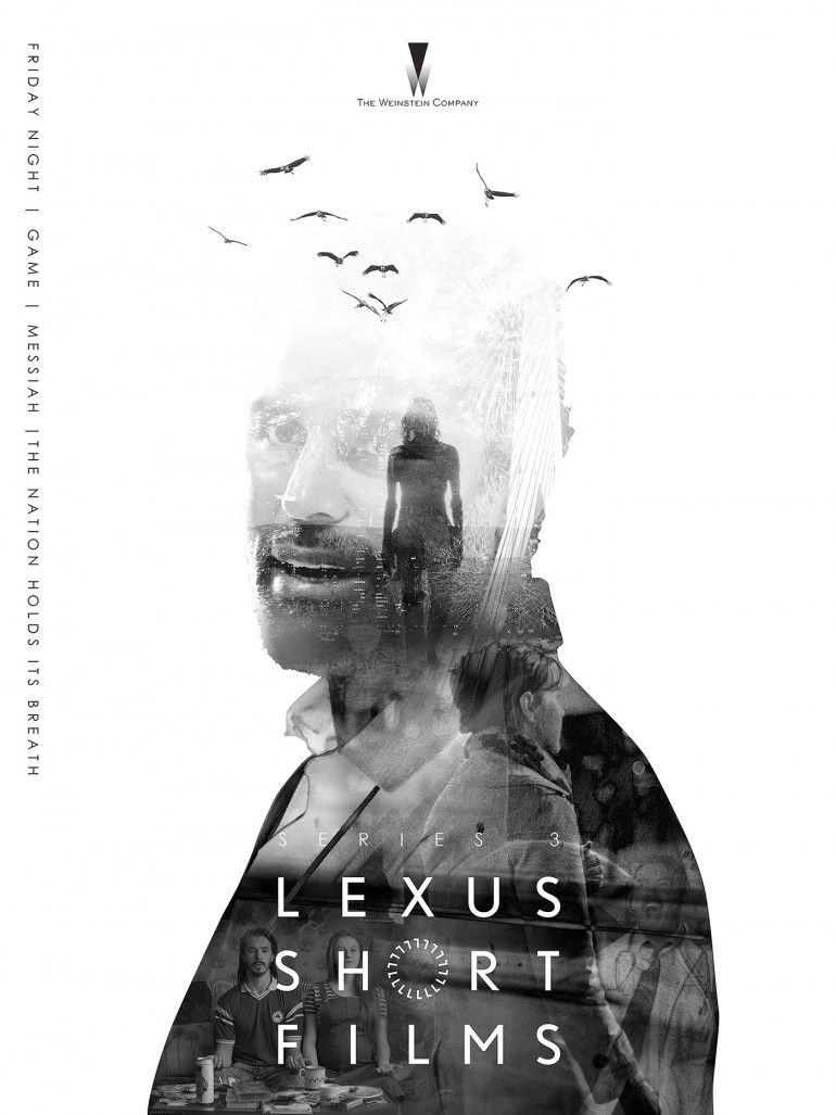 Design the official poster for Lexus Short Films on Inspirationde