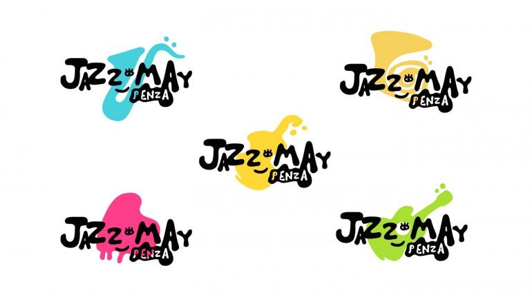 Jazz fest Logo design on Inspirationde