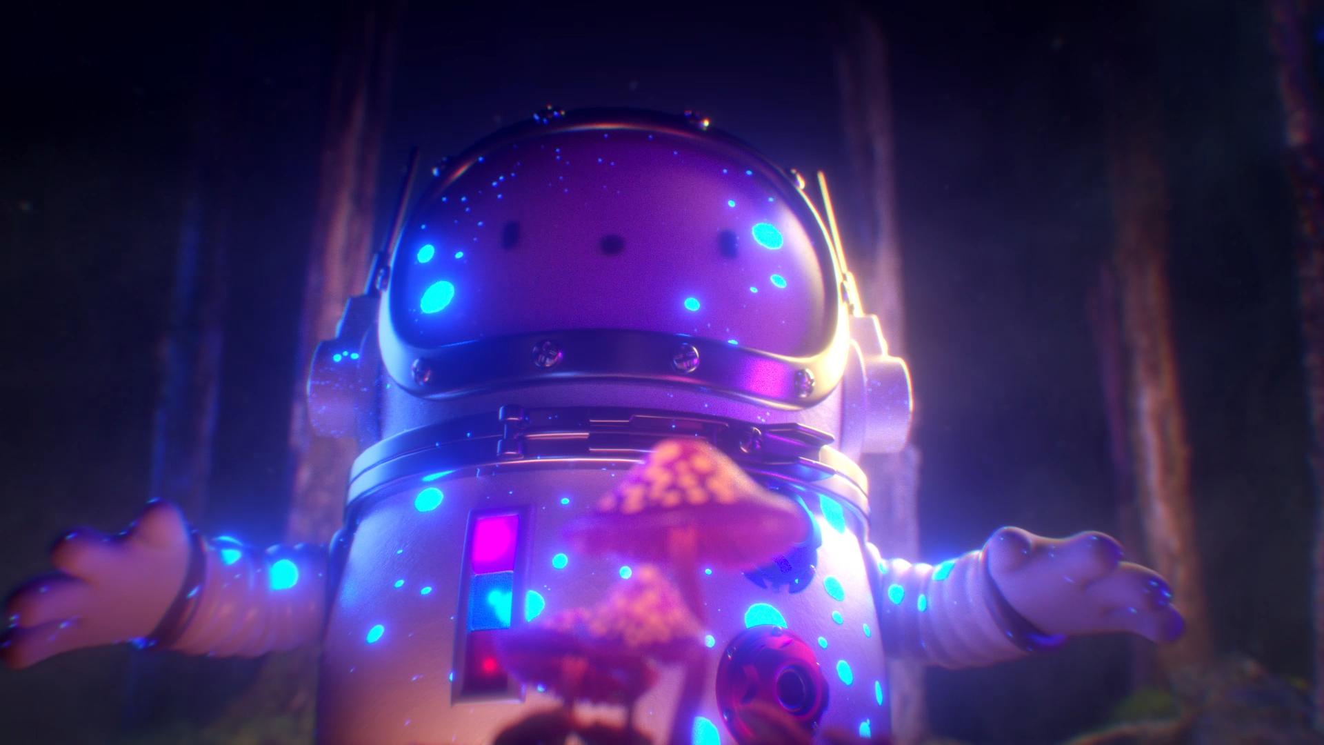 Node Fest Ident | Intergalactic Mushrooms on