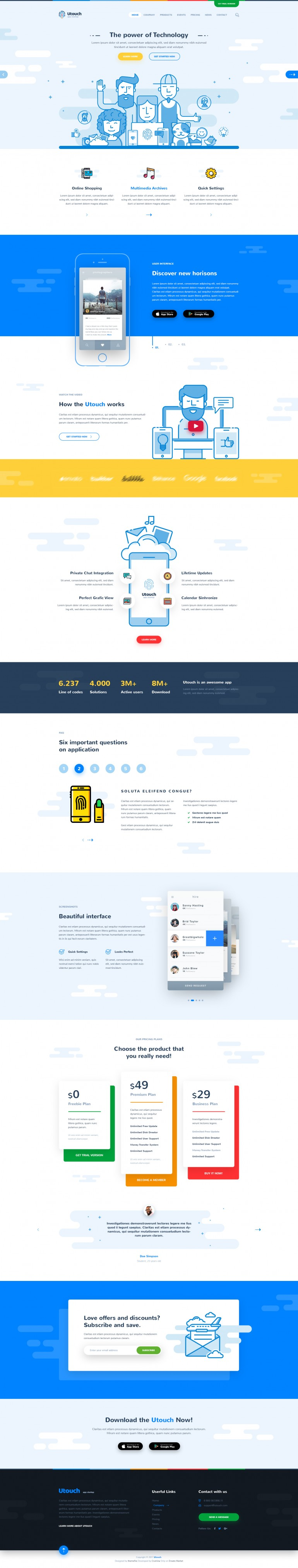 Utouch – App Startup Business and Digital Technology on Inspirationde