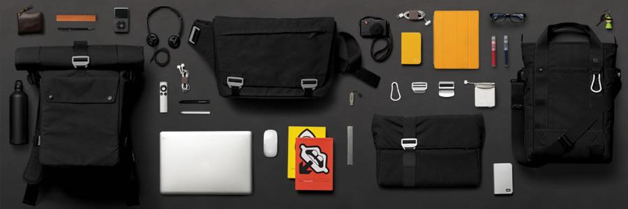 Bluelounge - Bonobo Series: True commuter transporters, padded & protective for laptops, iPads and more.