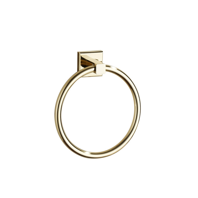 Golden Modern Polished Brass Bathroom Accessories Sets