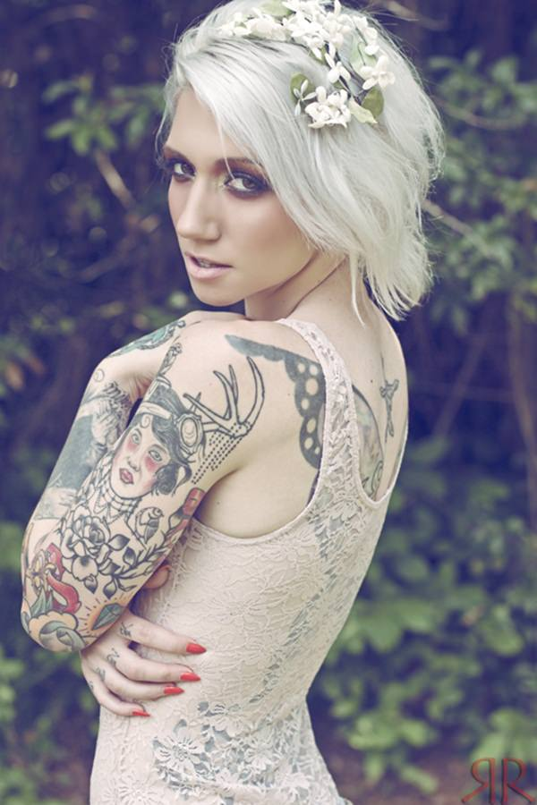 Hipster Style Sleeve Tattoos on Inspirationde