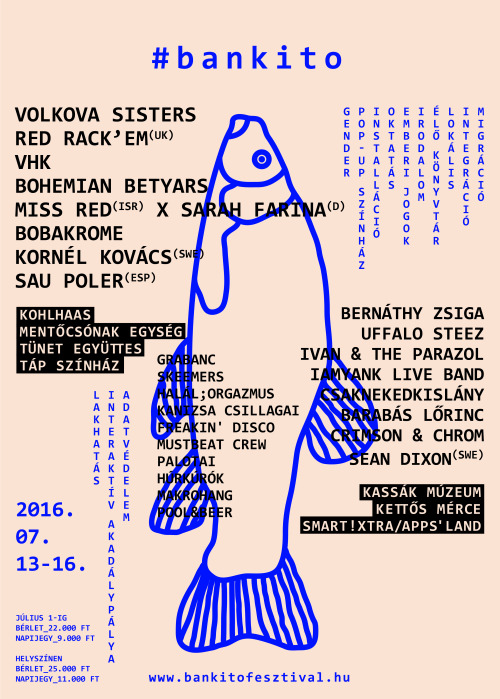 '16 Bunker, Cultural & Music Festival 'Poster on Inspirationde