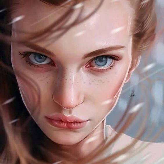 Impressive Portrait Painting