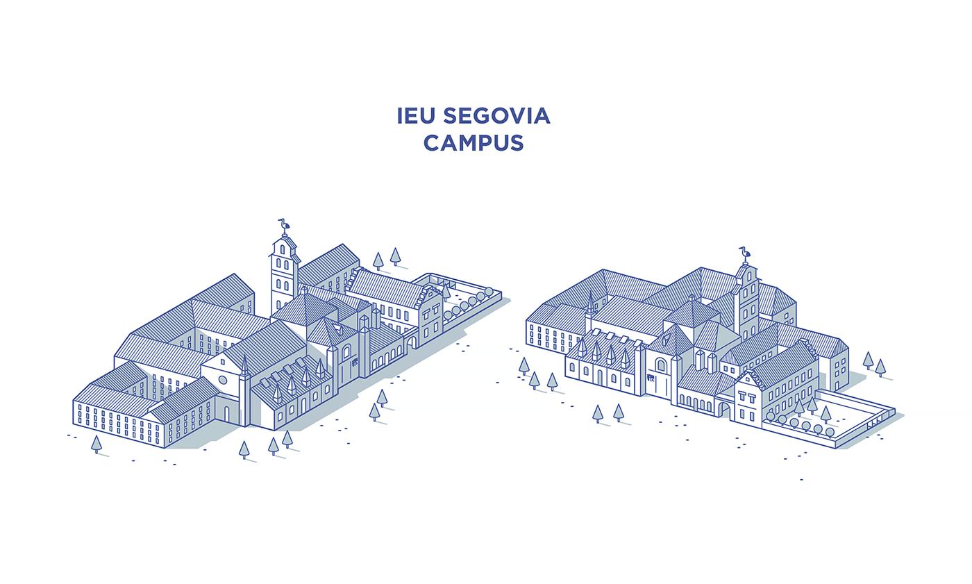 IE University | Illustration style 2016-17 on