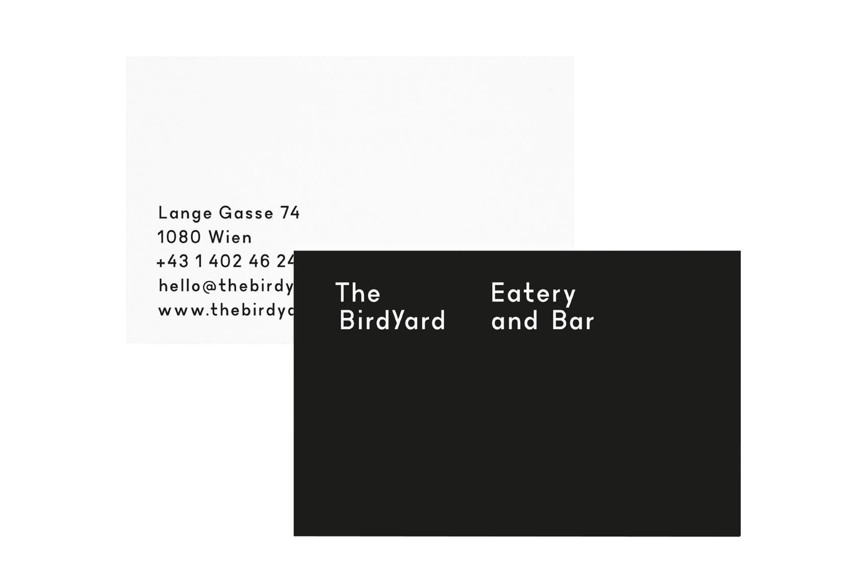 The BirdYard – Visual Journal