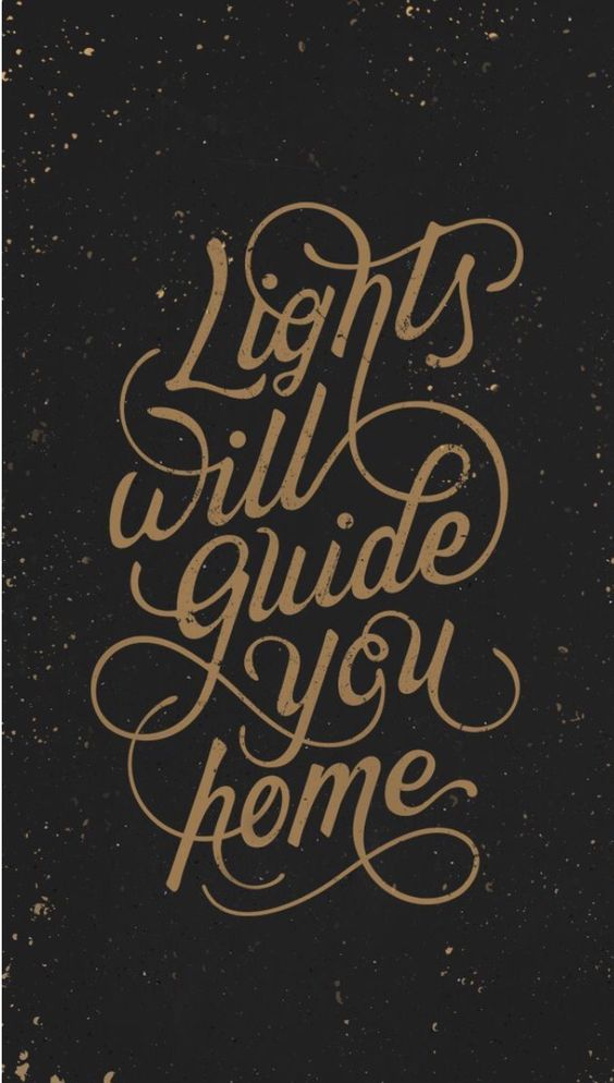 Lights will guide you home on Inspirationde